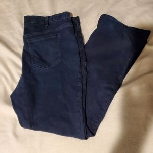 Lane Bryant Dark Wash Low-Rise Boot Cut Jeans
